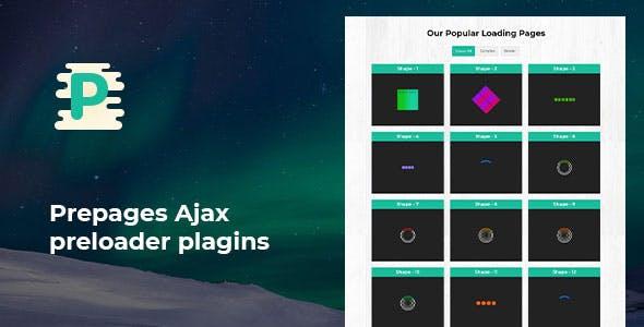 Prepages - Ajax preloader plagins