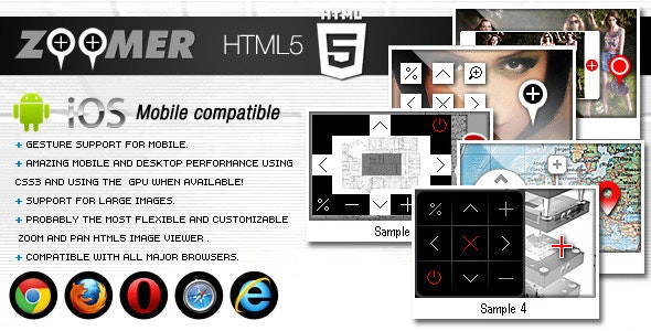 HTML5 Zoomer Plugin FWD - CodeCanyon Item for Sale