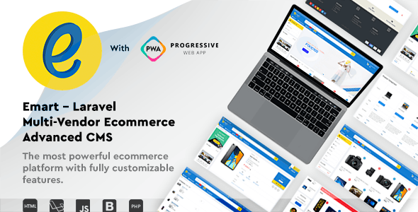 emart - Laravel Multi-Vendor Ecommerce Advanced CMS - CodeCanyon Item for Sale