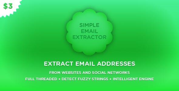 SimpleEmailExtractor