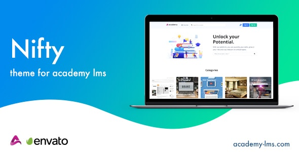 Nifty - Academy LMS Theme - CodeCanyon Item for Sale