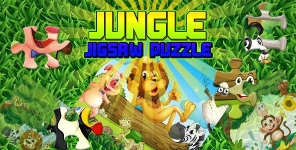 Jungle Jigsaw Puzzle Game (CAPX and HTML5)