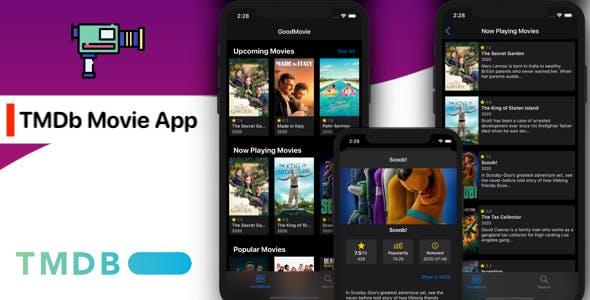 TMDb Movie App (iOS, Swift 5)