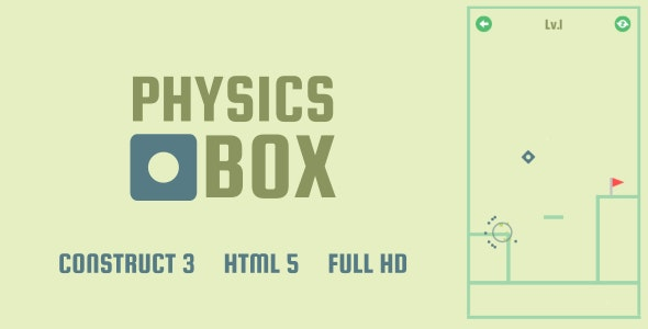Physics Box - HTML5 Game (Construct3) - CodeCanyon Item for Sale