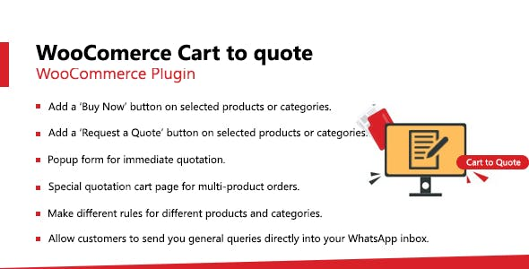 WooCommerce Cart to Quote