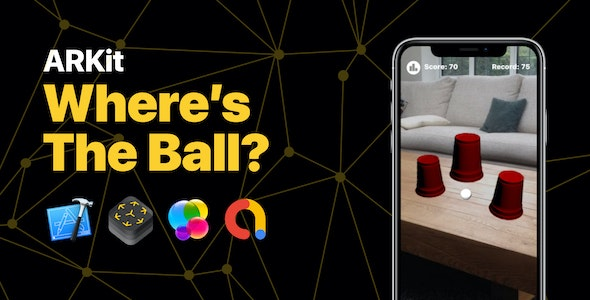 Where's The Ball - ARKit Game with AdMob - CodeCanyon Item for Sale