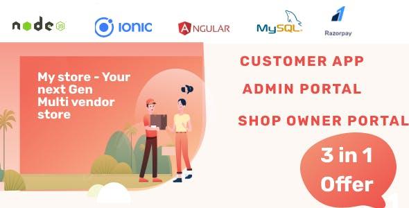 Mystore - Next Gen Multi vendor store