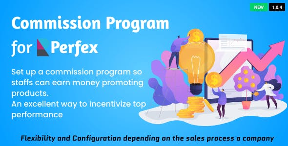 Sales Commission Program for Perfex CRM