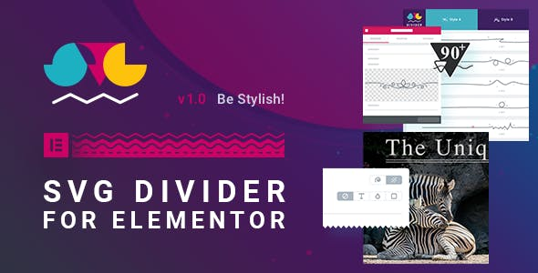 SVG Divider for Elementor
