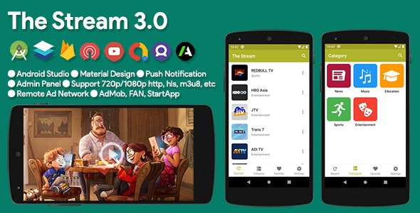 The Stream - TV & Video Streaming App - CodeCanyon Item for Sale
