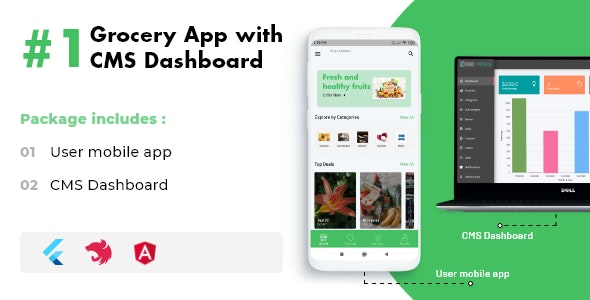 Flutter Grocery App - CodeCanyon Item for Sale