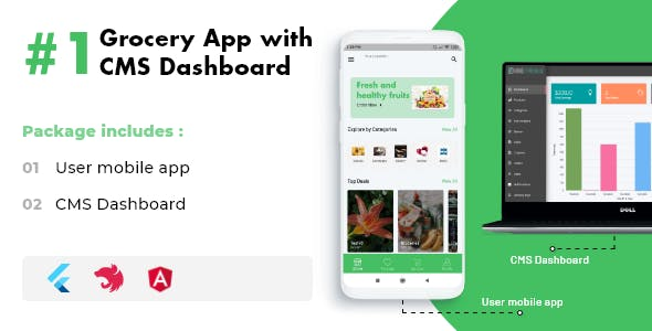 Flutter Grocery App