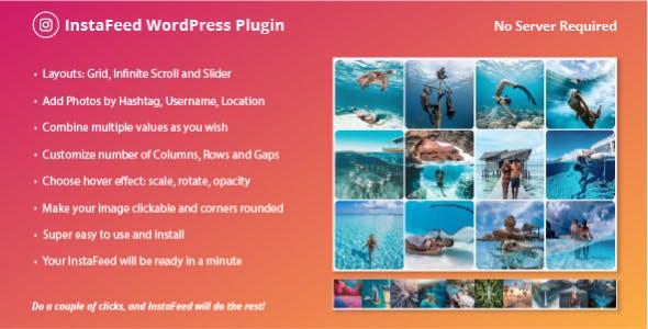 Serverless InstaFeed – Instagram Gallery Feed WordPress Plugin