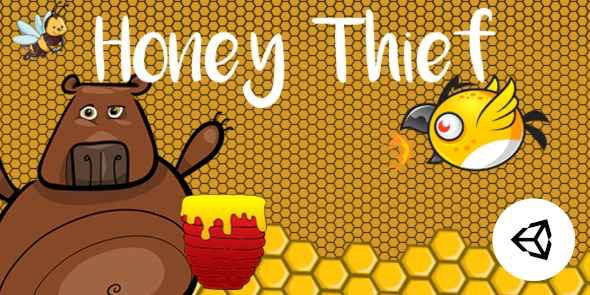Honey Thief Game | Unity  Casual Project for android and iOS - CodeCanyon Item for Sale