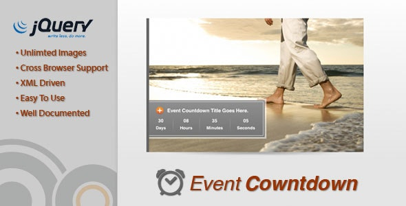 Event Countdown - CodeCanyon Item for Sale