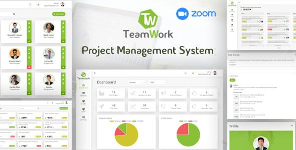 TeamWork - Project Management System