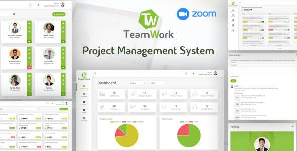 TeamWork - Project Management System