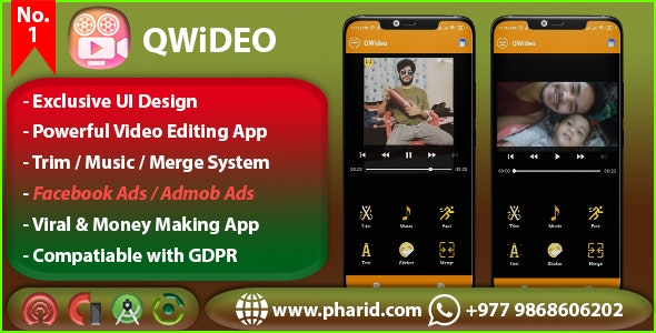 QWideo - Pro Video Editor & Maker Studio - CodeCanyon Item for Sale