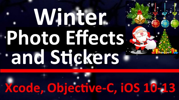 Winter Photo Effects and Stickers - CodeCanyon Item for Sale