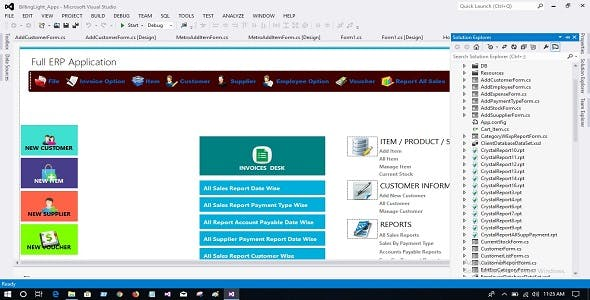 ERP 2 Full Project & Source Code C# New version 2020