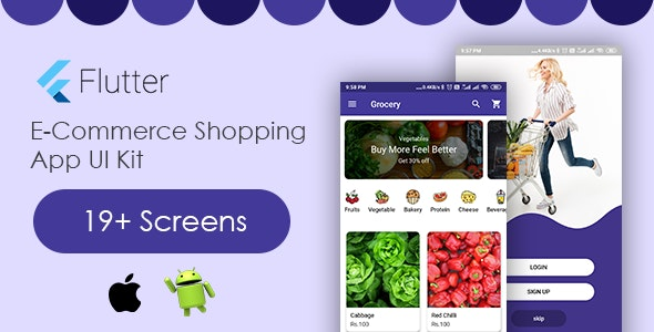 Flutter App E-Commerce Template - CodeCanyon Item for Sale