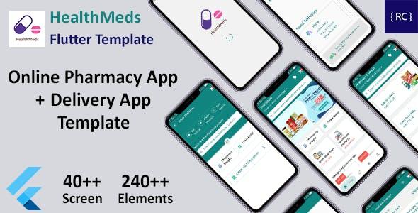 Online Medicine Ordering App Template Flutter | Online Pharmacy App Template Flutter