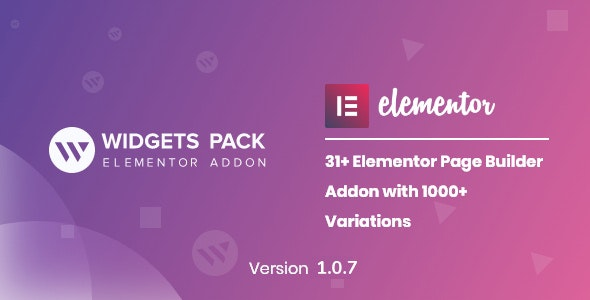 WidgetsPack - All in One Pack for Elementor Page Builder - CodeCanyon Item for Sale