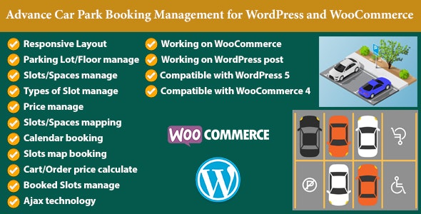 Advance Car Park Booking Management for WooCommerce - CodeCanyon Item for Sale