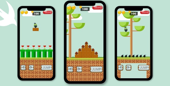 Hello Mr Jack - iOS SpriteKit Swift Game With Ads - CodeCanyon Item for Sale