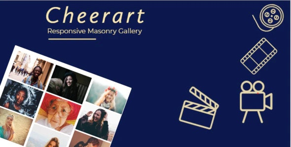 Cheerart - Bootstrap Responsive Masonry Gallery - CodeCanyon Item for Sale