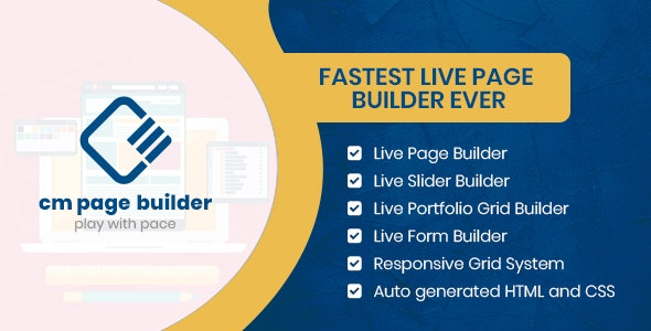 CM Page Builder - CodeCanyon Item for Sale