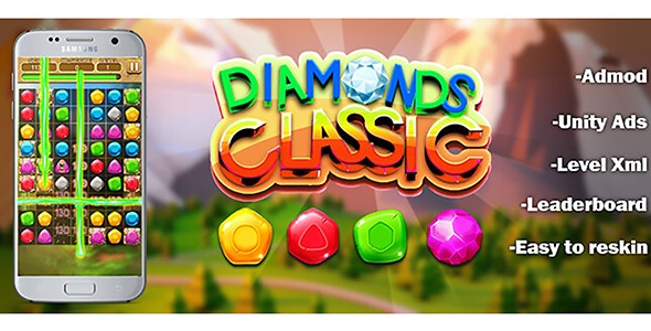 Diamonds Classic - Unity Completed Project - CodeCanyon Item for Sale