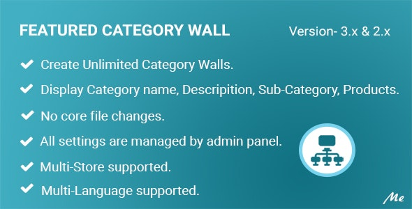 Featured Category Wall - CodeCanyon Item for Sale