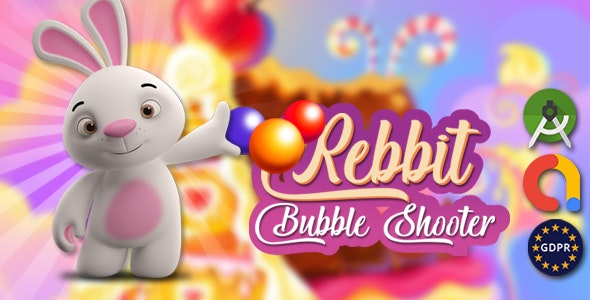 Rebbit bubble android studoi + admob - CodeCanyon Item for Sale