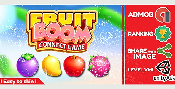 Fruit Boom - Unity Completed Project - CodeCanyon Item for Sale