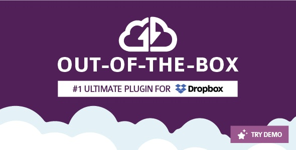 Out-of-the-Box | Dropbox plugin for WordPress - CodeCanyon Item for Sale