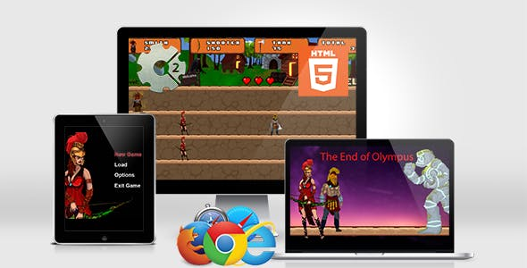 The End of Olympus- HTML5 Casual Game