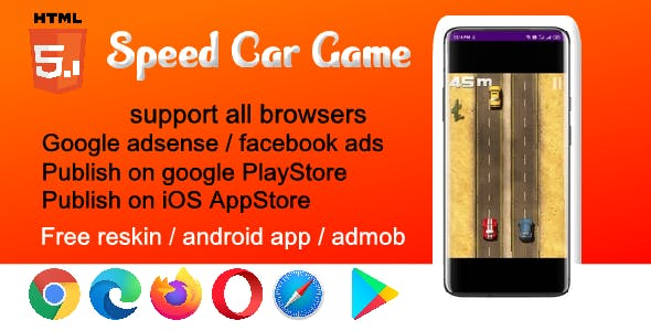 HTML5 Car Racing Game