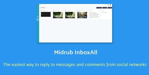 Midrub InboxAll - get notifications and reply all comments and messages from Facebook and Instagram