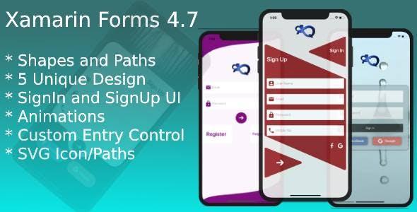 Xamarin Forms Login Page UI
