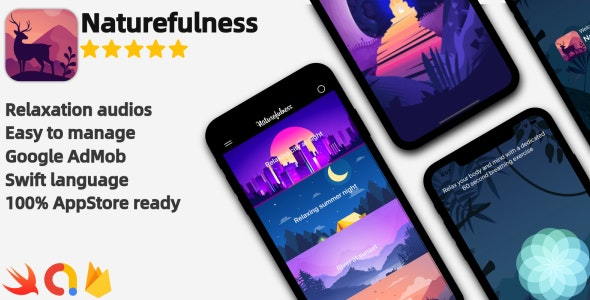 Naturefulness - iOS Relaxation Application - CodeCanyon Item for Sale
