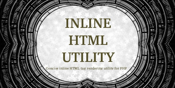 Inline HTML Utility - CodeCanyon Item for Sale