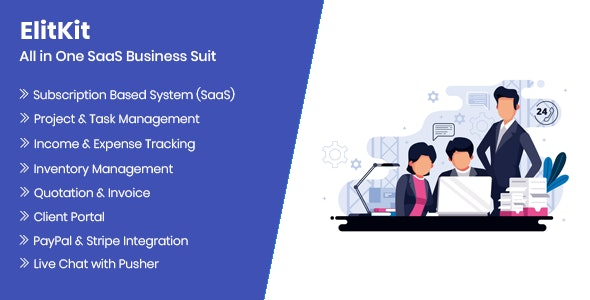ElitKit - All In One SaaS Business Suit - CodeCanyon Item for Sale