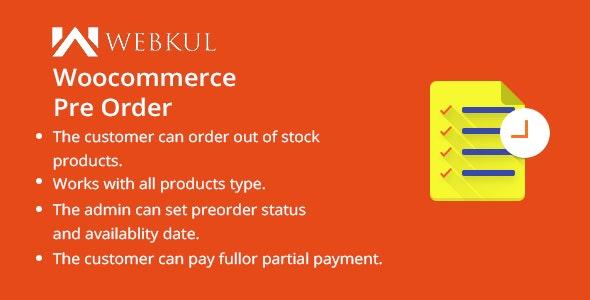WordPress WooCommerce Pre Order Plugin