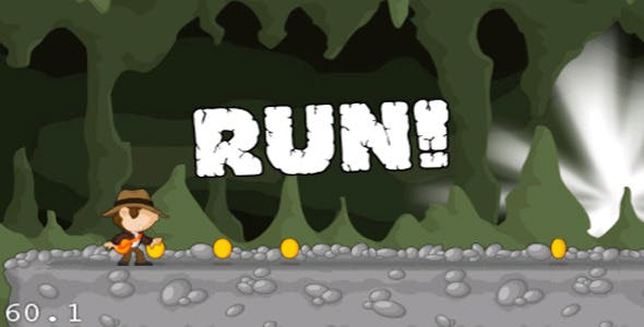 Cave Run Game - Cocos2D