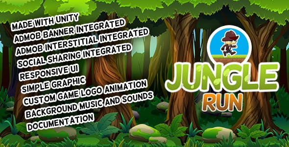Jungle Run - Android Game with AdMob