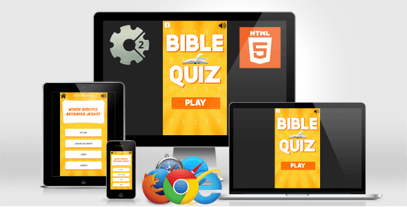 Bible Quiz - HTML5 Quiz Game (Construct 2)