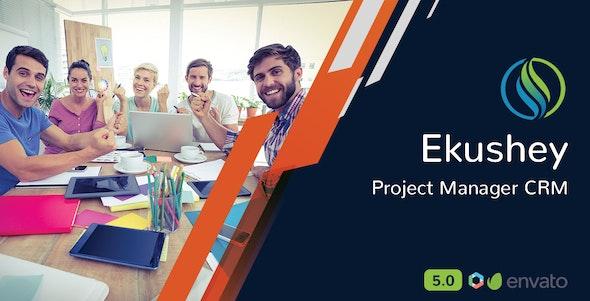 Ekushey v5.0 – Project Manager CRM – nulled