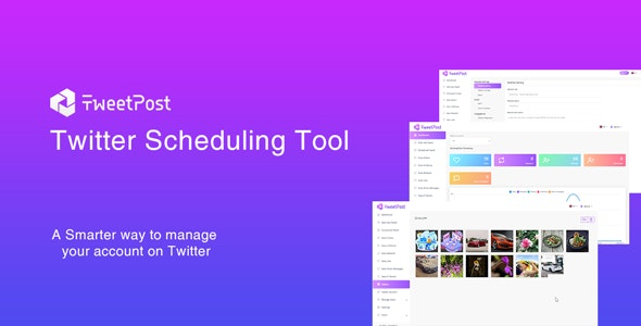 TweetPost - Twitter Scheduling Tool - CodeCanyon Item for Sale
