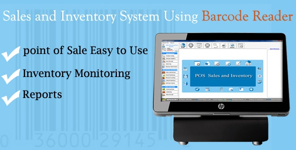 POS - Point Of Sales and Inventory System Using Barcode Reader - CodeCanyon Item for Sale